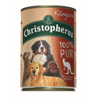 Nassfutter Christopherus 100% Pur Känguru