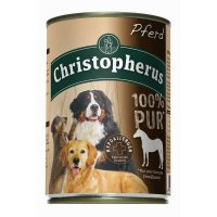 Nassfutter Christopherus 100% Pur Pferd