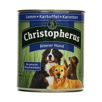 Nassfutter Christopherus Älterer Hund Lamm Kartoffeln & Karotten
