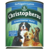 Nassfutter Christopherus Geflügel & Lamm
