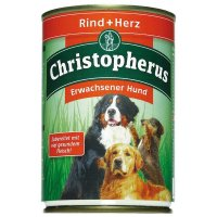 Nassfutter Christopherus Rind & Herz