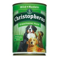 Nassfutter Christopherus Wild & Nudeln