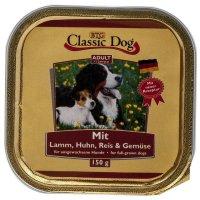 Nassfutter Classic Dog Adult Lamm, Huhn Reis & Gemüse