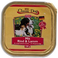 Nassfutter Classic Dog Adult Rind & Lamm