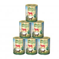 Nassfutter Dehner Best Nature Adult Rind und Reis mit Distelöl
