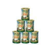 Nassfutter Dehner Best Nature Adult Ziege und Huhn mit Nudeln