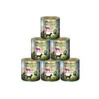 Nassfutter Dehner Best Nature Hundefutter Adult Lamm und Kartoffeln mit Petersilie