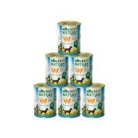 Nassfutter Dehner Best Nature Adult Light Huhn und Karotten mit Distelöl