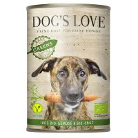 Nassfutter Dogs Love Bio Gartenernte Vegan