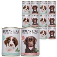 Nassfutter Dogs Love Hypoallergen Mixpaket Ente & Pferd