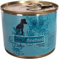 Nassfutter Dogz finefood No. 12 Wild & Hering