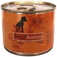 Nassfutter Dogz finefood No. 8 Pute & Ziege