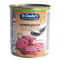 Nassfutter Dr. Clauders Selected Meat Kopffleisch