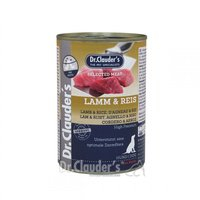 Nassfutter Dr. Clauders Selected Meat Lamm & Reis