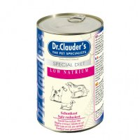 Nassfutter Dr. Clauders Selected Meat Special Diet Low Natrium