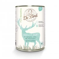 Nassfutter Dr. Link Pure Sensitive Hirsch pur