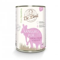 Nassfutter Dr. Link Pure Sensitive Känguru pur