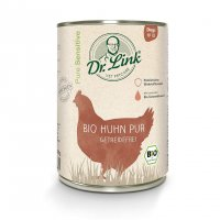 Nassfutter Dr. Link Pure Sensitive Bio Huhn pur