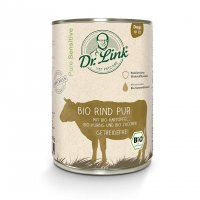 Nassfutter Dr. Link Sensitive Bio Rind pur mit Kartoffel, Kürbis und Zucchini