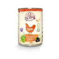 Nassfutter Dr. Link SUPER NATURAL Huhn