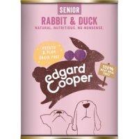 Nassfutter Edgard & Cooper Senior Rabbit & Duck