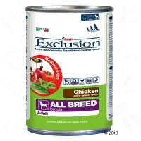 Nassfutter Exclusion Mediterraneo All Breed Adult Chicken