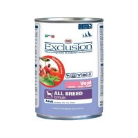 Nassfutter Exclusion Mediterraneo All Breed Adult Veal
