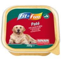 Nassfutter fit+fun Paté Lamm & Wild