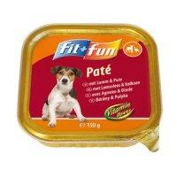 Nassfutter fit+fun Paté Adult Lamm & Pute