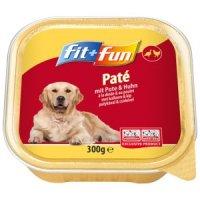 Nassfutter fit+fun Paté Huhn & Pute