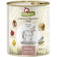 Nassfutter GranataPet Lieblings Mahlzeit Pferd Pur Sensitive