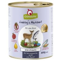 Nassfutter GranataPet Lieblings Mahlzeit Wild & Lachs