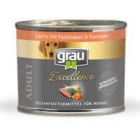 Nassfutter Grau Excellence Adult Lachs mit Pastinaken & Karotten