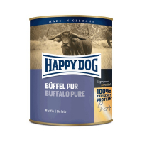 Nassfutter Happy Dog Büffel Pur