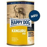 Nassfutter Happy Dog Känguru Pur