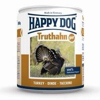 Nassfutter Happy Dog Truthahn Pur