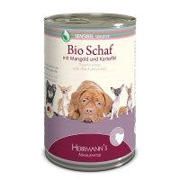 Nassfutter Herrmanns Bio-Schaf mit Mangold und Kartoffeln