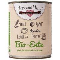 Nassfutter HerzensHund Bio-Ente mit Bio-Gemüse