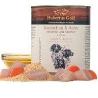 Nassfutter Hubertus Gold Kaninchen & Huhn