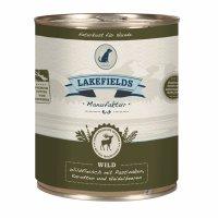 Nassfutter Lakefields Dosenfleisch Muskelfleisch - Menü Wild