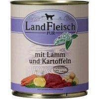 Nassfutter LandFleisch Pur Lamm & Ente & Kartoffeln