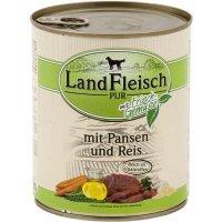Nassfutter LandFleisch Pur Pansen & Reis mit Biogemüse