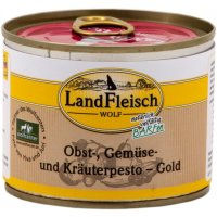 Nassfutter LandFleisch Wolf Pesto Gold