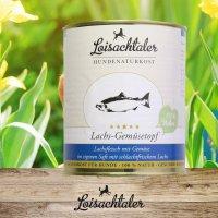 Nassfutter Loisachtaler Lachs-Gemüsetopf