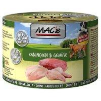 Nassfutter MACs Kaninchen & Gemüse
