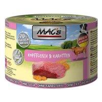 Nassfutter MACs Kopffleisch & Karotten