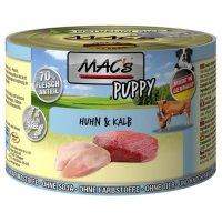 Nassfutter MACs Puppy Huhn & Kalb -