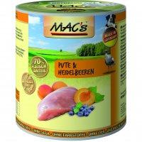 Nassfutter MACs Pute & Heidelbeeren