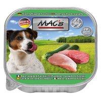 Nassfutter MACs Rind, Geflügel & Zucchini