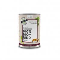 Nassfutter naftie 100% Bio-Rind